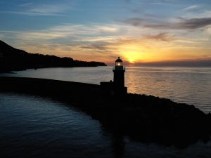 Il Faro del porto d'Ischia